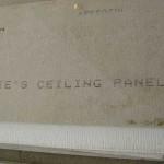 asbestos ceiling sheet