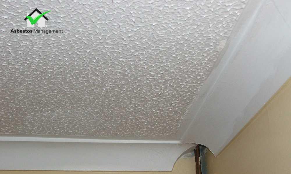 Asbestos Textured Ceilings