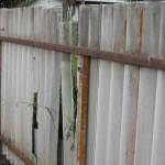 Asbestos Corrugated Fibre Panel Fence