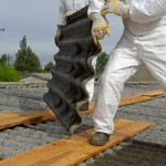 Corrugated Asbestos Fibre Roof Removal