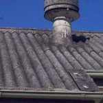 Industrial Asbestos Roofing and Chminey