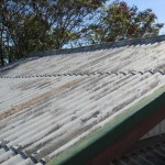 Asbestos Corrugated Shed Roof