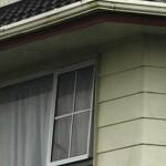 asbestos soffit & weatherboard cladding