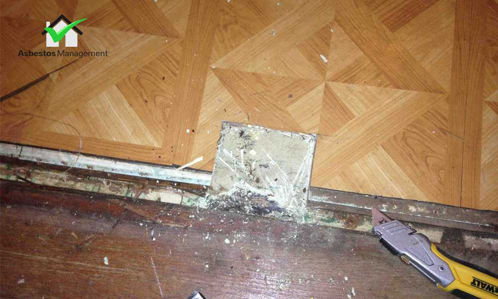 Asbestos Vinyl Floor